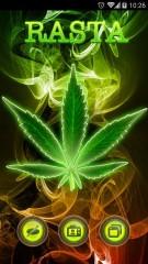 weed rasta theme