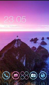 Purple Nature : Fantastic Neon