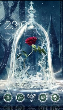 Frozen Rose:Beauty & Beast