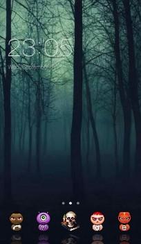 forest halloween