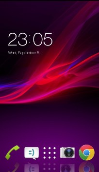 Theme for Sony Xperia M HD