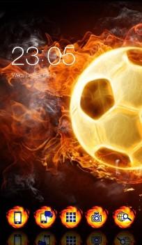 Cool Flame fire Ball Theme