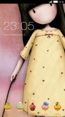 gorjuss yellow dress