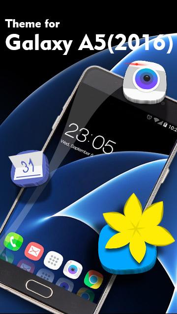 Theme for Galaxy A5 (2016) HD