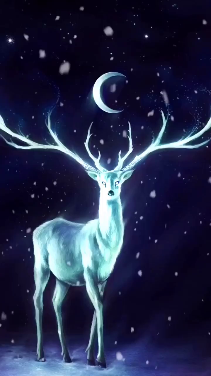 luminous deer
