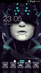 cyborg lady.imsagi