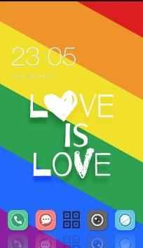 Rainbow Pride love
