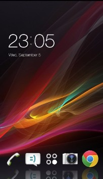 Theme for Sony Xperia ZR HD