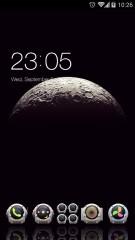 Moon Surface 3d Globe