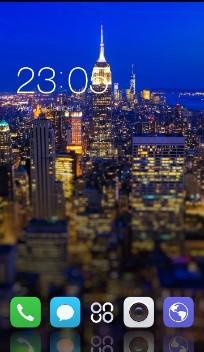 Gionee S6 Pro:night city