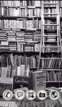 Black and White Theme: Book