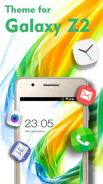 Theme for Galaxy Z2 HD