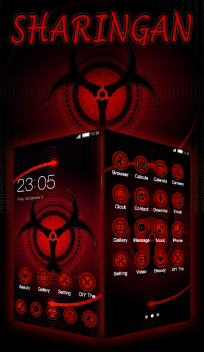 Red cool Theme
