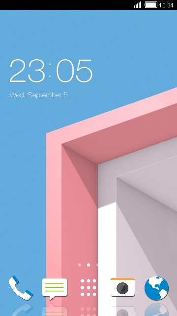 Theme for HTC Desire 7088