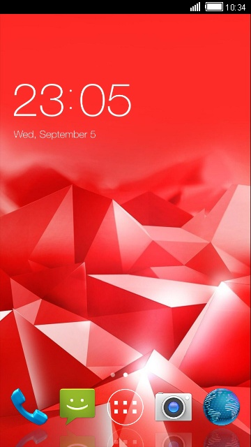 Theme for ZTE V3 Energy Edition