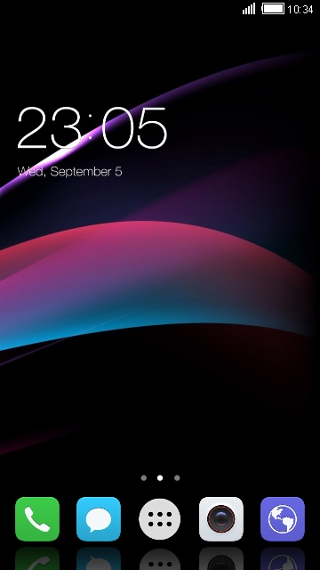 Theme for Huawei Ascend G750