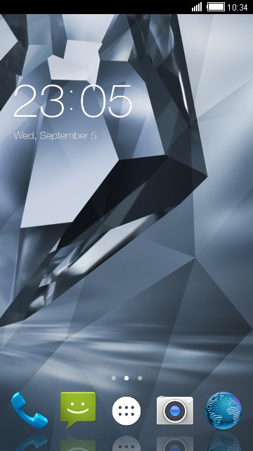 Theme for Sharp Aquos Crystal