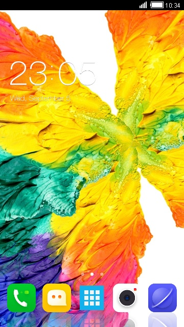 P2 Lenovo Launcher Theme & Wallpaper