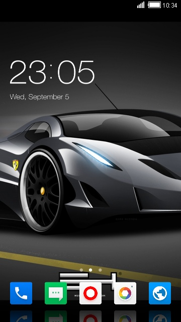 Themes for Gionee Pioneer P5L Cars Wallpaper
