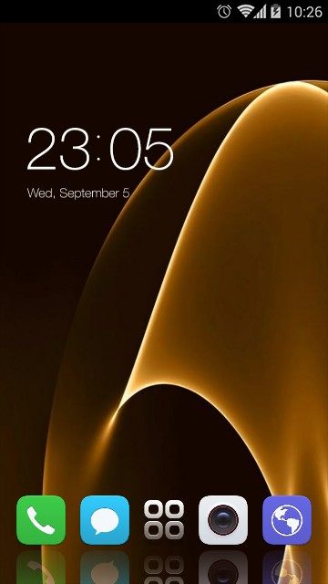 Theme for Panasonic P75 HD