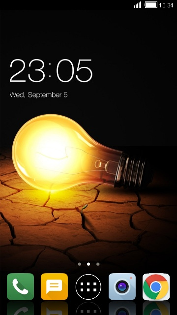 Theme for Micromax Vdeo 3 Bulb Wallpaper