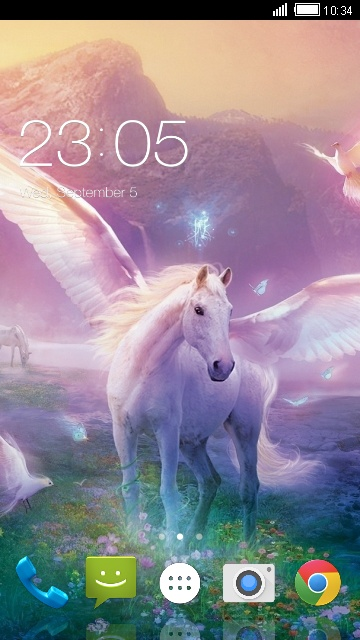 Theme for Karbonn K3 Star Pegasus Wallpaper
