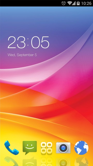 Theme for Micromax Canvas Selfie 2 HD