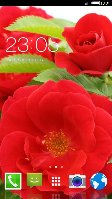Theme for Alcatel One Touch Fire E Flower LWP