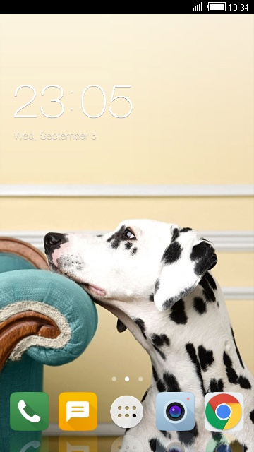 Theme for ZTE Blade A3