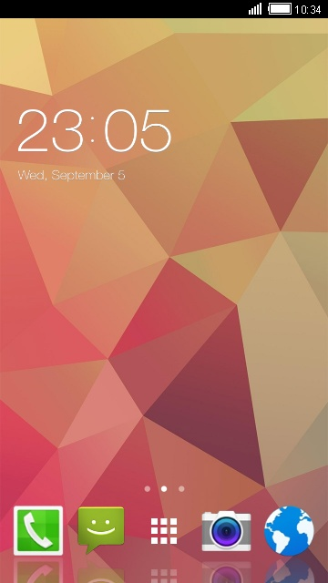 Theme for Alcatel One Touch Fire S