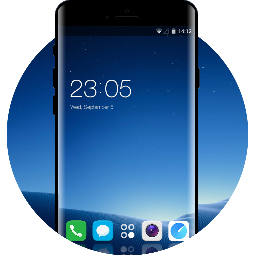 Vivo X20 Plus Free Android Theme U Launcher 3d