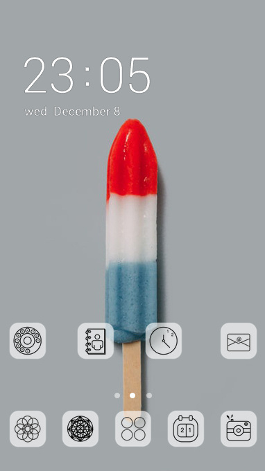 sweet popsicle theme
