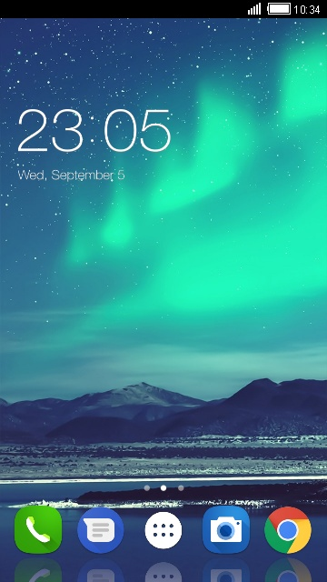 Aurora Theme for Asus Zenfone Pegasus 3