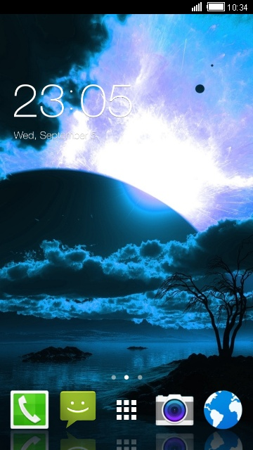 Fantasy Theme for Alcatel One Touch Hero 2C