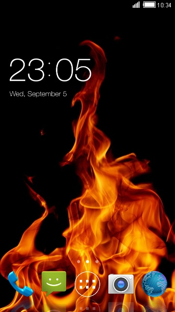 Theme for Lyf Flame 5