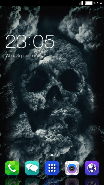 Skull Theme for Samsung Galaxy Tab 3 10.1 3G