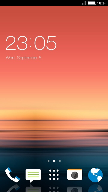 Themes for HTC Desire 830 Sunset Wallpaper