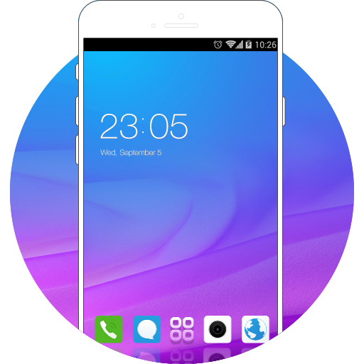 Theme for Vivo Y21L HD free android theme – U launcher 3D