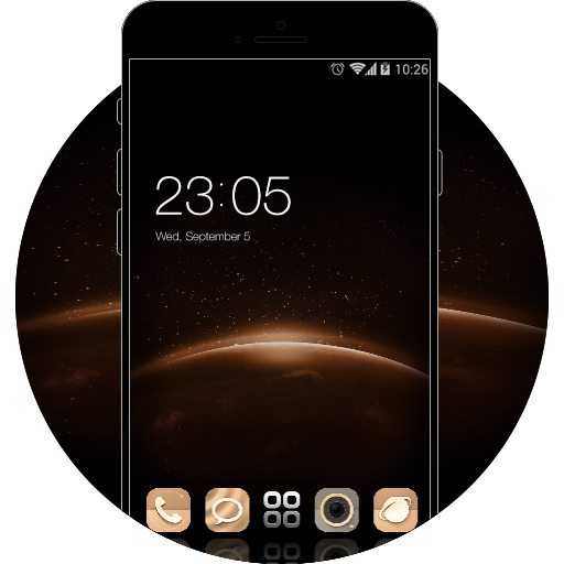 Theme for HUAWEI Y5 II HD free android theme – U launcher 3D