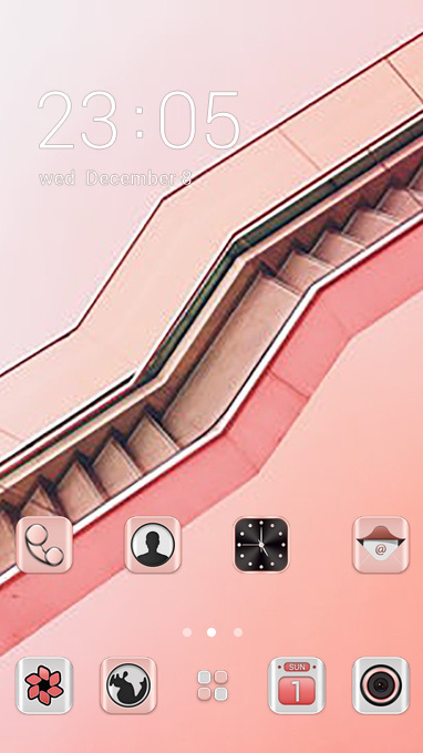 pink business theme