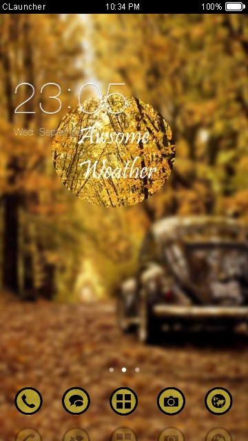 Autumn Leaves Theme