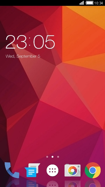 Theme for Panasonic T44 Abstract Wallpaper