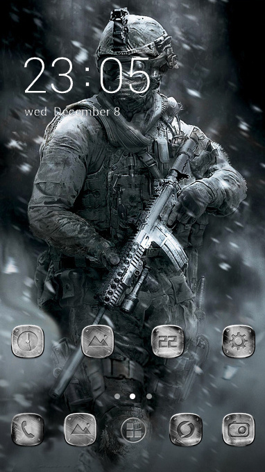 soldier war snow