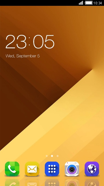 Theme for Samsung Wave M