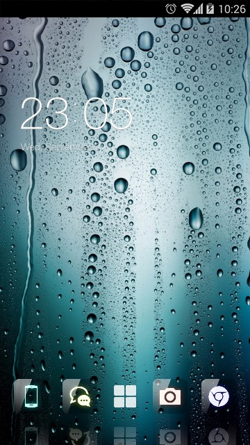 Water Drop Theme for Gaxlxy A7