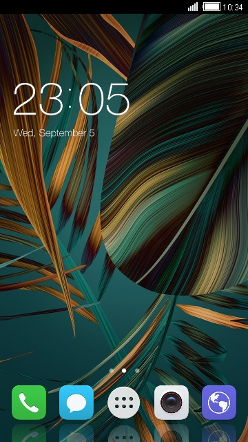 Theme for Huawei Ascend D1
