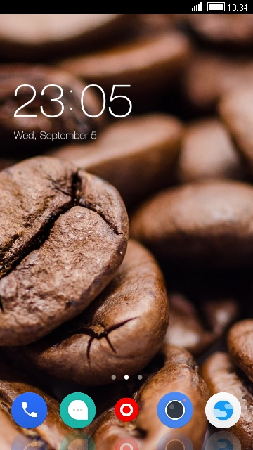 Theme for Swipe Virtue: Coffee Lover