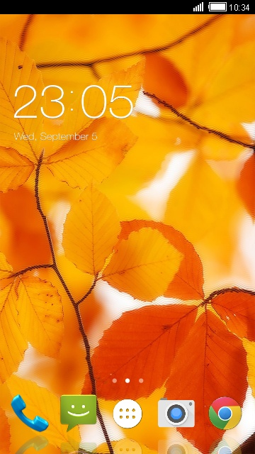 Autumn Theme for Karbonn Titanium S7