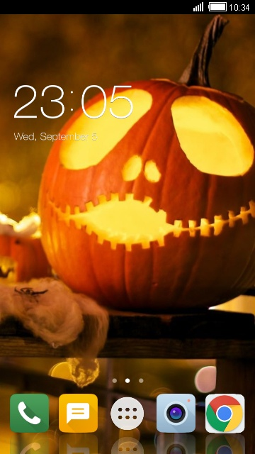 Themes for LG Q6: Halloween