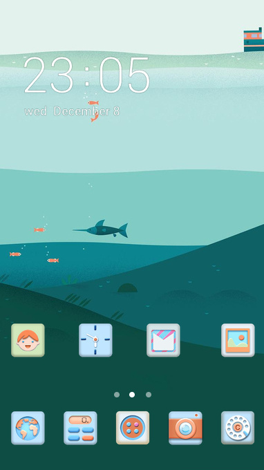 July sea theme